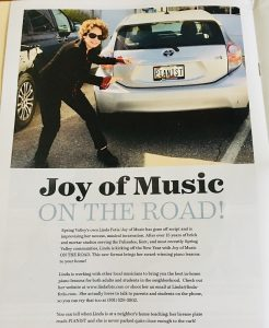 Piano Lessons in 2020 Spring Valley Life Magazine!