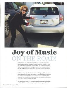 Piano Lessons in Spring Vallery Life Magazine